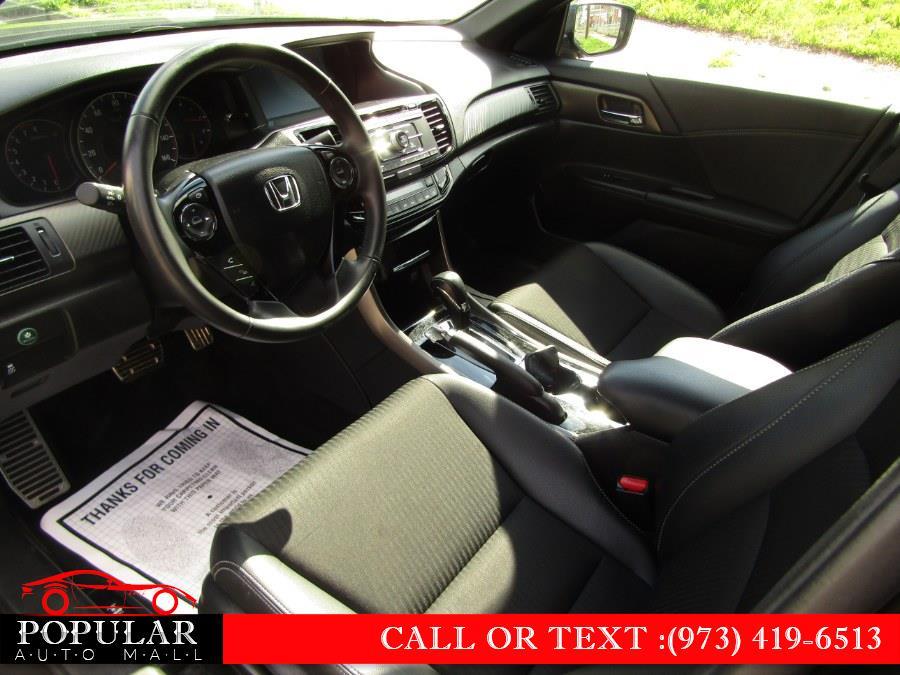 Used Honda Accord Sedan 4dr I4 CVT Sport 2016 | Popular Auto Mall Inc . Newark , New Jersey