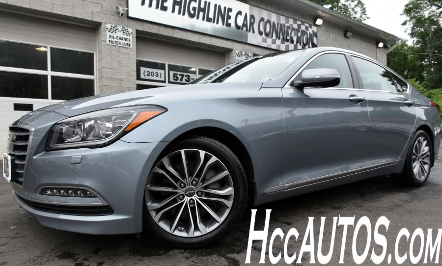 2016 Hyundai Genesis 4dr Sdn V6 3.8L AWD, available for sale in Waterbury, CT