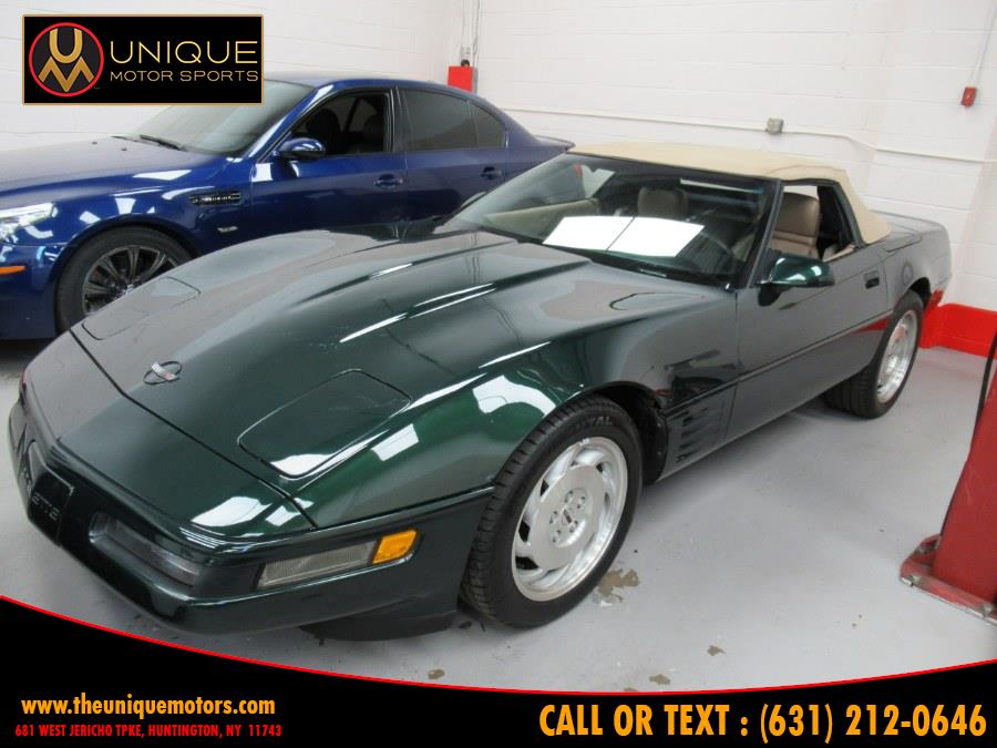 1993 Chevrolet Corvette 2dr Convertible, available for sale in Huntington, New York   Unique Motor Sports. Huntington, New York