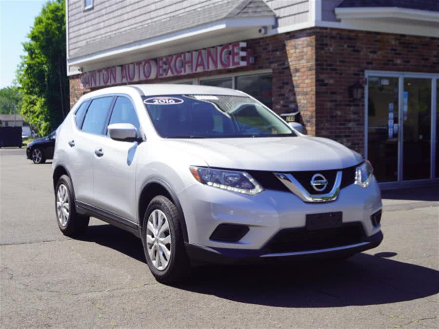2016 Nissan Rogue S, available for sale in Canton, CT