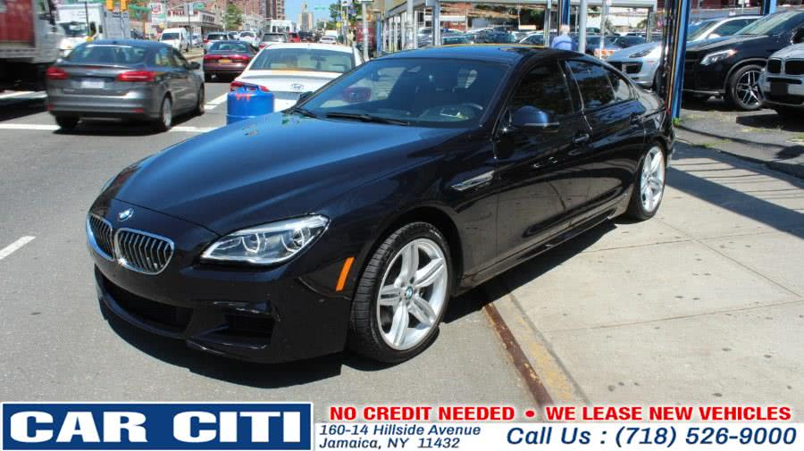 2016 BMW 6 Series 4dr Sdn 640i xDrive AWD Gran Coupe, available for sale in Jamaica, New York | Car Citi. Jamaica, New York
