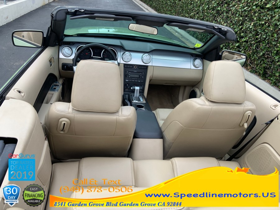 2005 Ford Mustang 2dr Conv Deluxe, available for sale in Garden Grove, California | Speedline Motors. Garden Grove, California