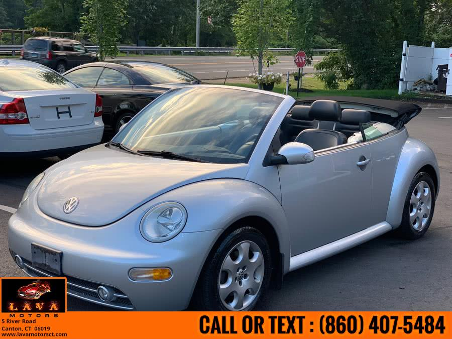 Used 2003 Volkswagen New Beetle Convertible in Canton, Connecticut | Lava Motors. Canton, Connecticut