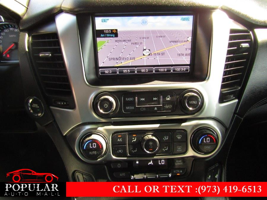 Used Chevrolet Tahoe 4WD 4dr LT 2015 | Popular Auto Mall Inc . Newark , New Jersey