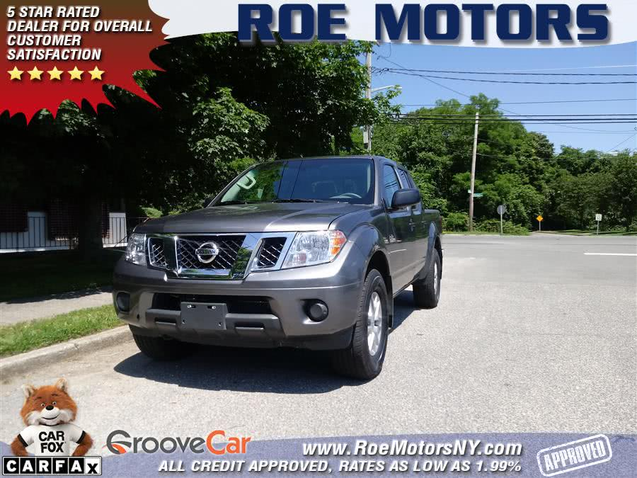 2019 Nissan Frontier Crew Cab 4x4 SV Auto, available for sale in Shirley, New York | Roe Motors Ltd. Shirley, New York