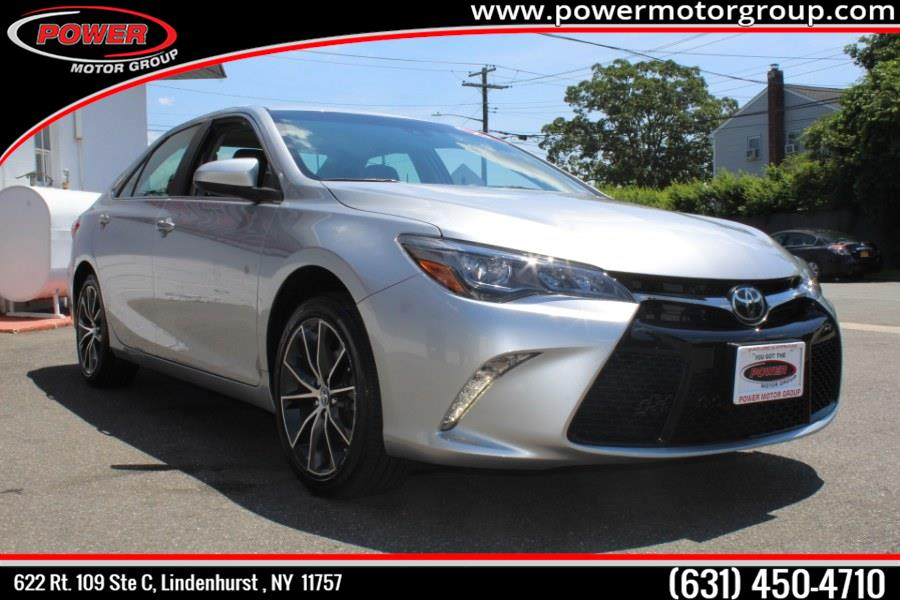2015 Toyota Camry 4dr Sdn V6 Auto XSE (Natl), available for sale in Lindenhurst , New York | Power Motor Group. Lindenhurst , New York