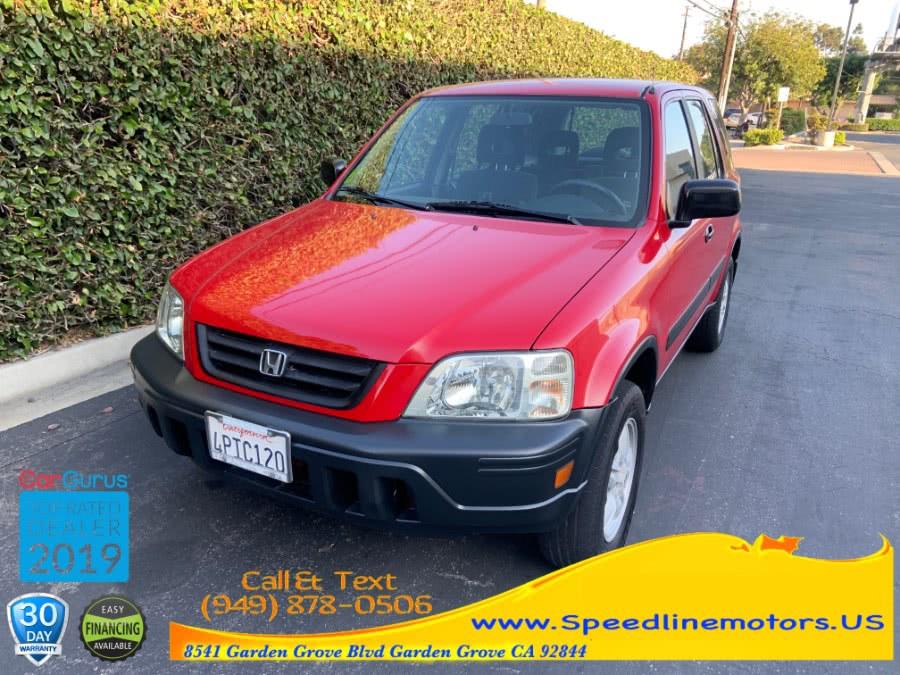 2001 Honda CR-V 2WD LX Auto, available for sale in Garden Grove, California   Speedline Motors. Garden Grove, California