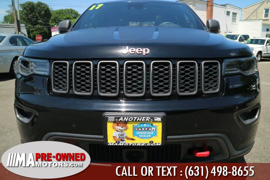 2017 Jeep Grand Cherokee Trailhawk 4x4, available for sale in Huntington, New York | M & A Motors. Huntington, New York