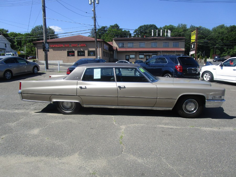 1969 Cadillac Fleetwood D Elegance brougham, available for sale in Waterbury, Connecticut   Tony's Auto Sales. Waterbury, Connecticut