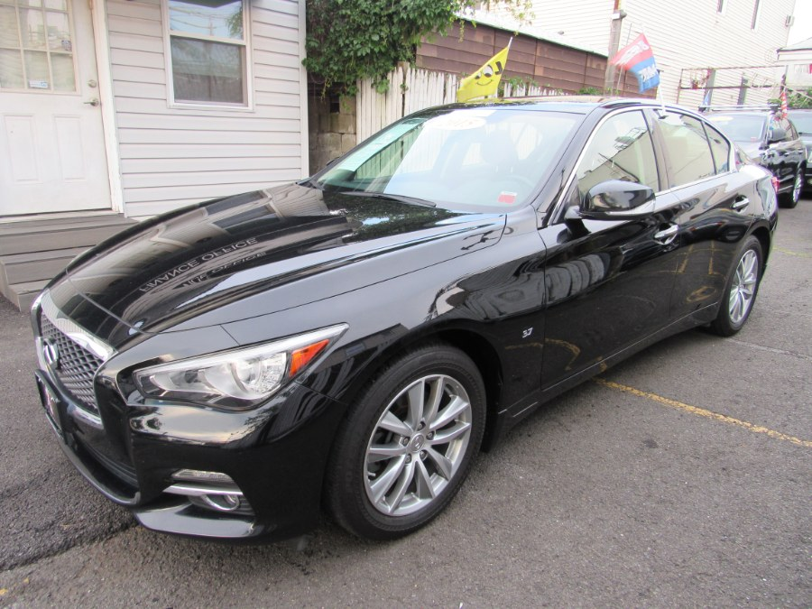 2015 INFINITI Q50 4dr Sdn Premium AWD/Navi, available for sale in Middle Village, New York | Road Masters II INC. Middle Village, New York