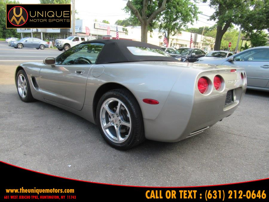 2002 Chevrolet Corvette 2dr Convertible, available for sale in Huntington, New York | Unique Motor Sports. Huntington, New York