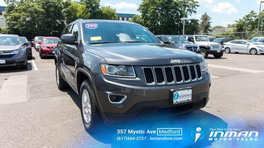 Used 2015 Jeep Grand Cherokee in Medford, Massachusetts | Inman Motors Sales. Medford, Massachusetts