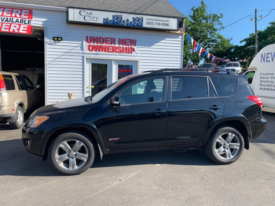 2011 Toyota RAV4 4WD 4dr 4-cyl 4-Spd AT Sport (Natl), available for sale in Danbury, CT