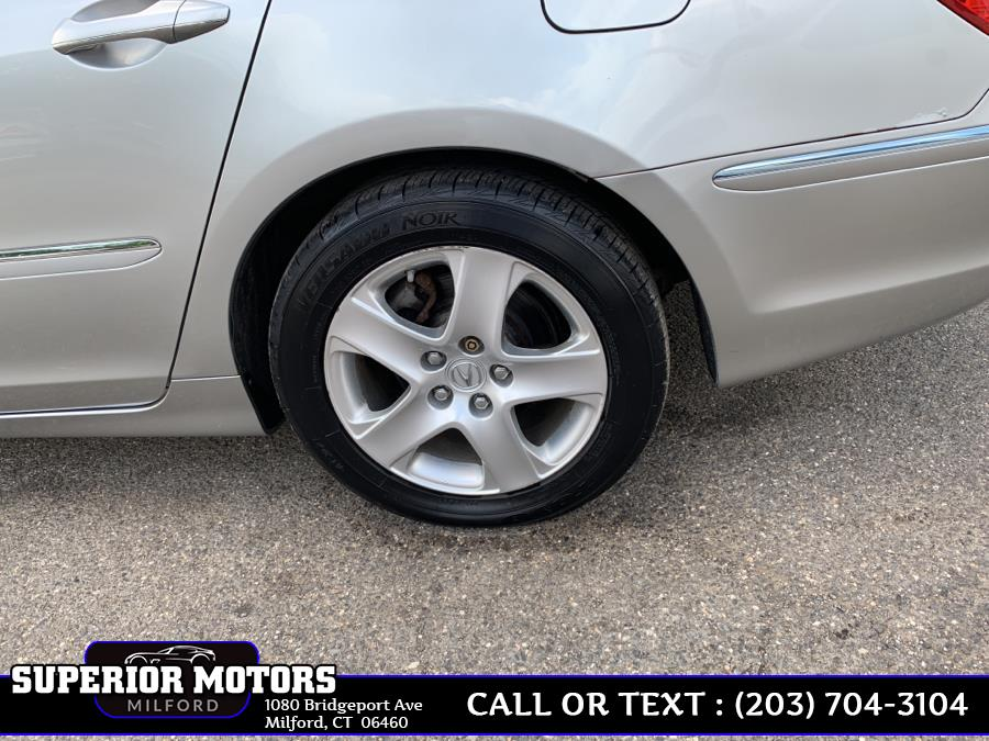 2008 Acura RL 4dr Sdn Tech Pkg, available for sale in Milford, Connecticut | Superior Motors LLC. Milford, Connecticut