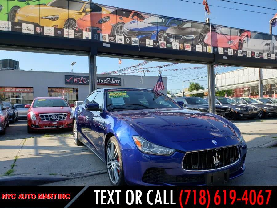 Used Maserati Ghibli 4dr Sdn S Q4 2015 | NYC Automart Inc. Brooklyn, New York