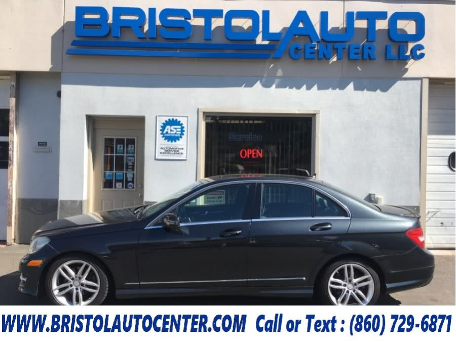 2012 Mercedes-Benz C-Class 4dr Sdn C300 Sport 4MATIC, available for sale in Bristol, CT