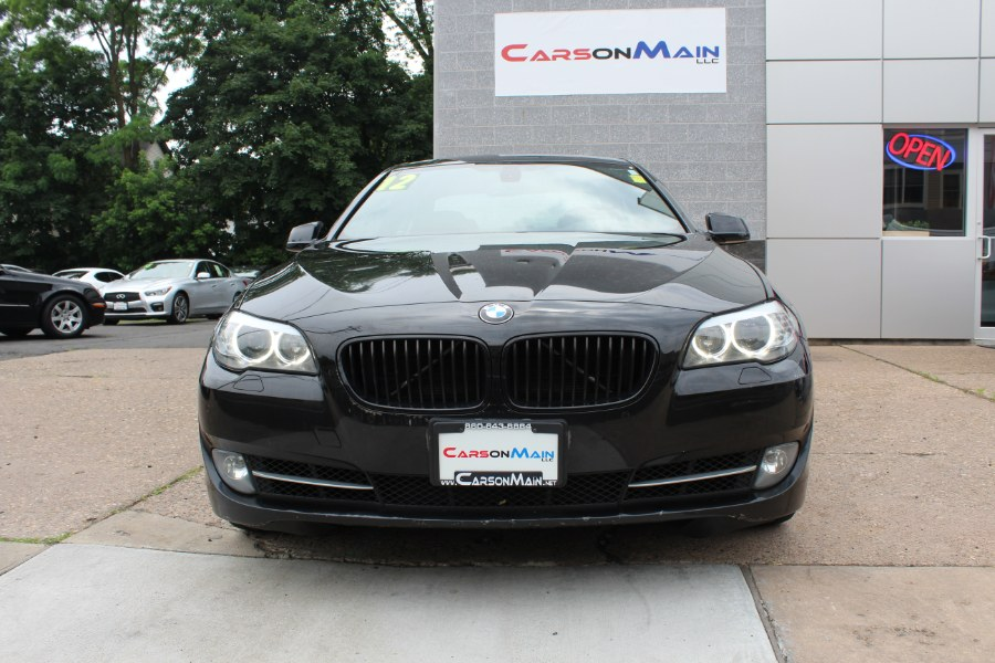 2012 BMW 5 Series 4dr Sdn 535i xDrive AWD, available for sale in Manchester, Connecticut   Carsonmain LLC. Manchester, Connecticut