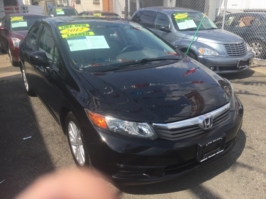 2012 Honda Civic Sdn 4dr Auto EX, available for sale in Middle Village, New York | Middle Village Motors . Middle Village, New York
