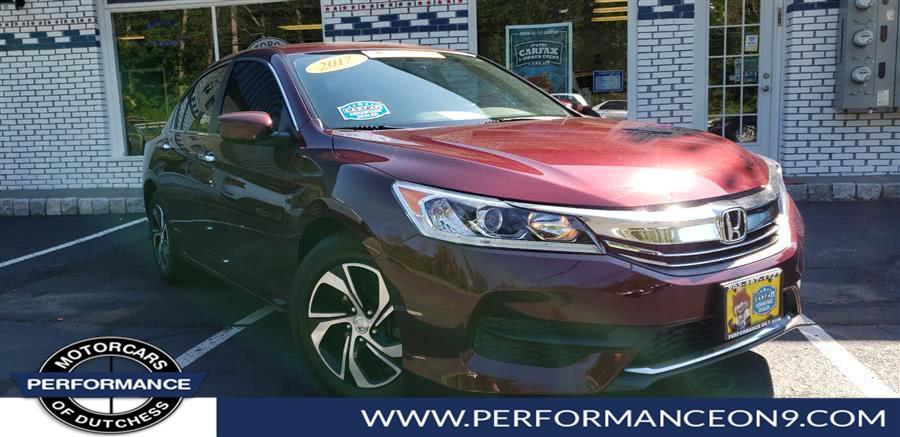 Used 2017 Honda Accord Sedan in Wappingers Falls, New York | Performance Motorcars Inc. Wappingers Falls, New York