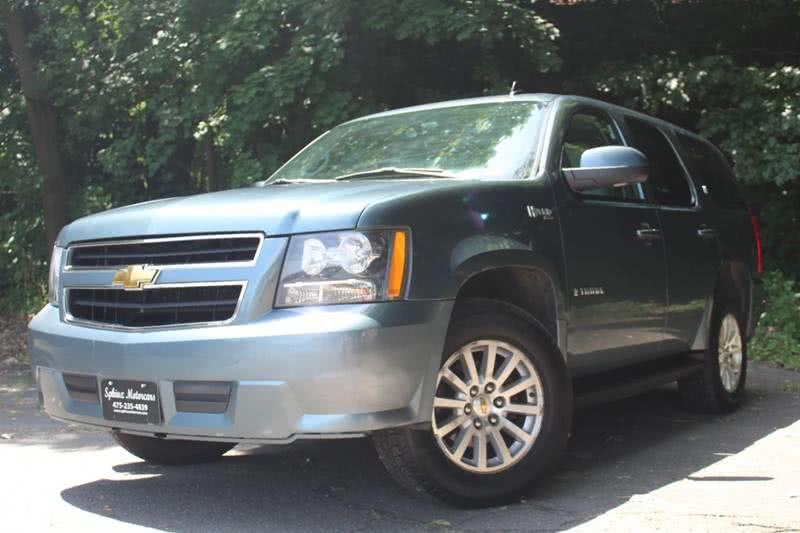 2009 Chevrolet Tahoe Hybrid 4x4 4dr SUV, available for sale in Waterbury, Connecticut | Sphinx Motorcars. Waterbury, Connecticut