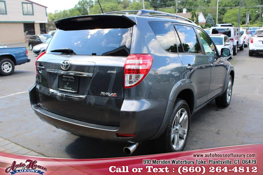 2011 Toyota RAV4 4WD 4dr 4-cyl 4-Spd AT Sport (Natl), available for sale in Plantsville, Connecticut | Auto House of Luxury. Plantsville, Connecticut