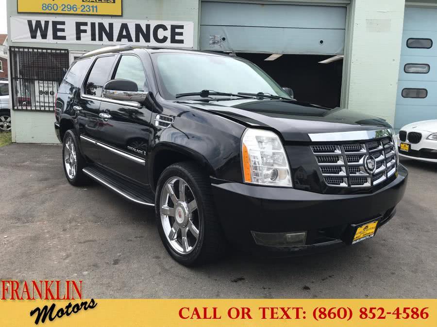 Used 2009 Cadillac Escalade in Hartford, Connecticut   Franklin Motors Auto Sales LLC. Hartford, Connecticut