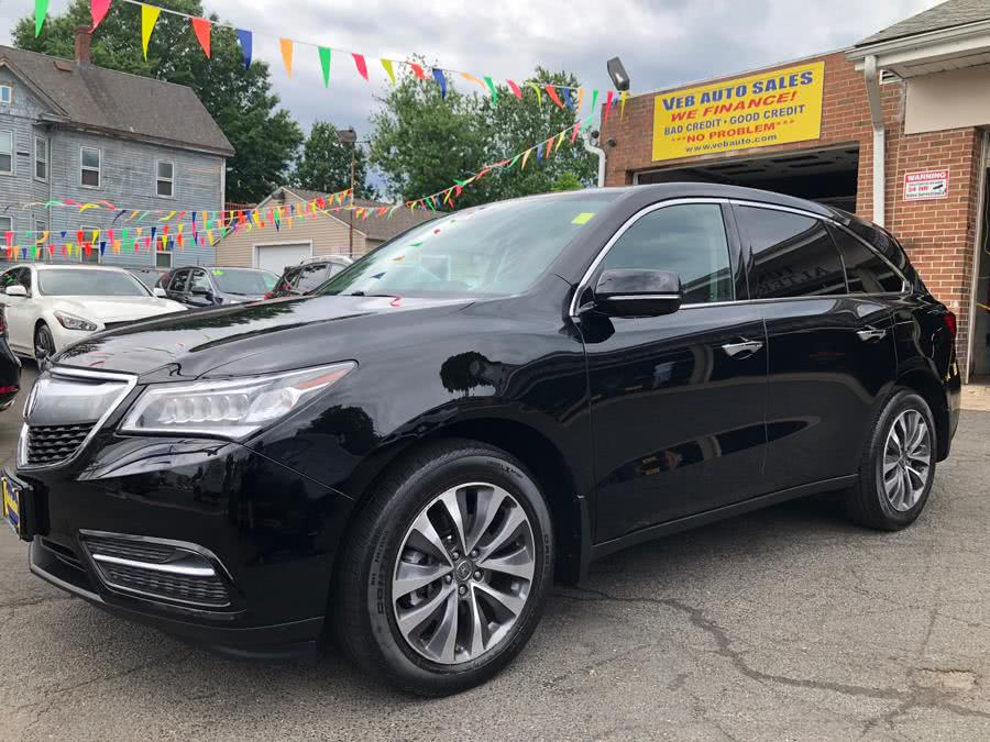 2016 Acura MDX SH-AWD 4dr w/Tech/AcuraWatch Plus, available for sale in Hartford, Connecticut | VEB Auto Sales. Hartford, Connecticut