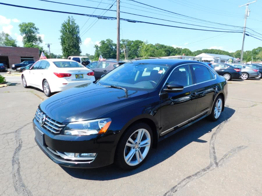 Used Volkswagen Passat 4dr Sdn 2.0L DSG TDI SEL Premium 2013 | M&M Motors International. Clinton, Connecticut