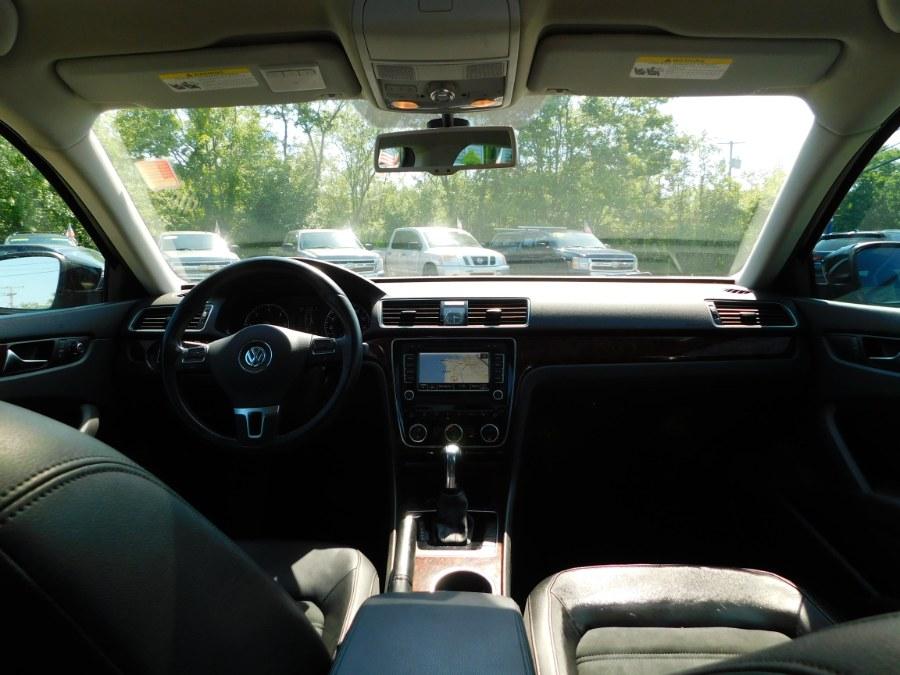 Used Volkswagen Passat 4dr Sdn 2.0L DSG TDI SEL Premium 2013 | M&M Motors International. Clinton, Connecticut