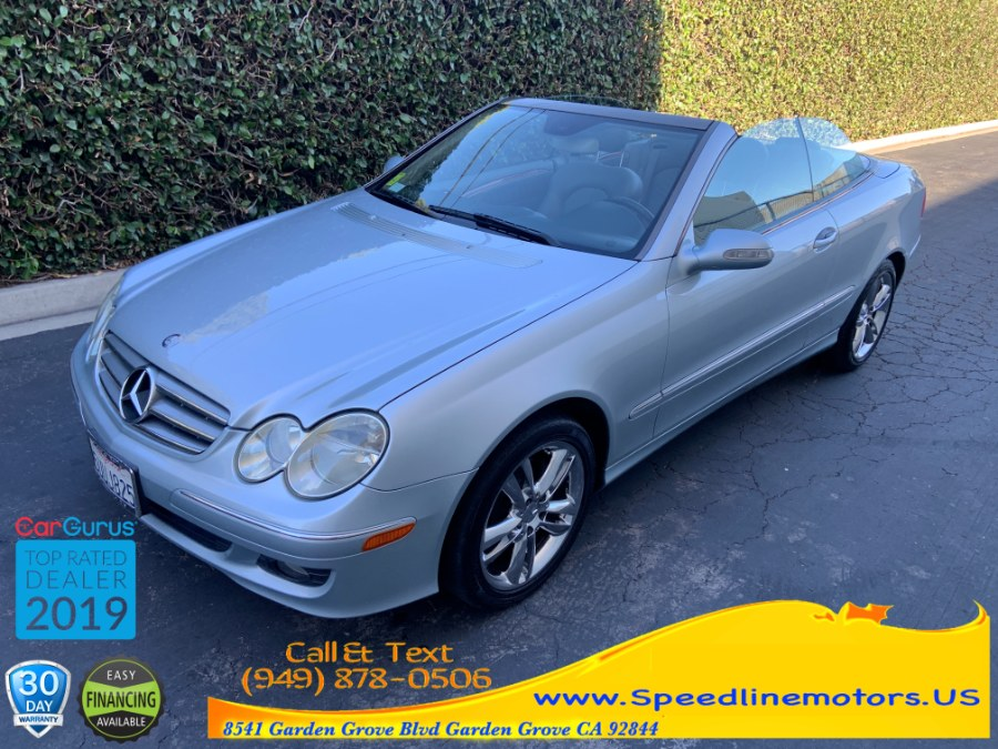 2006 Mercedes-Benz CLK-Class 2dr Cabriolet 3.5L, available for sale in Garden Grove, California | Speedline Motors. Garden Grove, California
