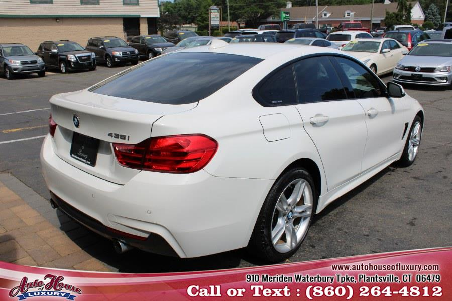 Used BMW 4 Series 4dr Sdn 435i xDrive AWD Gran Coupe 2016 | Auto House of Luxury. Plantsville, Connecticut