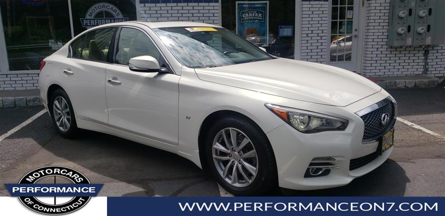 2015 Infiniti Q50 4dr Sdn Premium AWD, available for sale in Wilton, Connecticut | Performance Motor Cars. Wilton, Connecticut