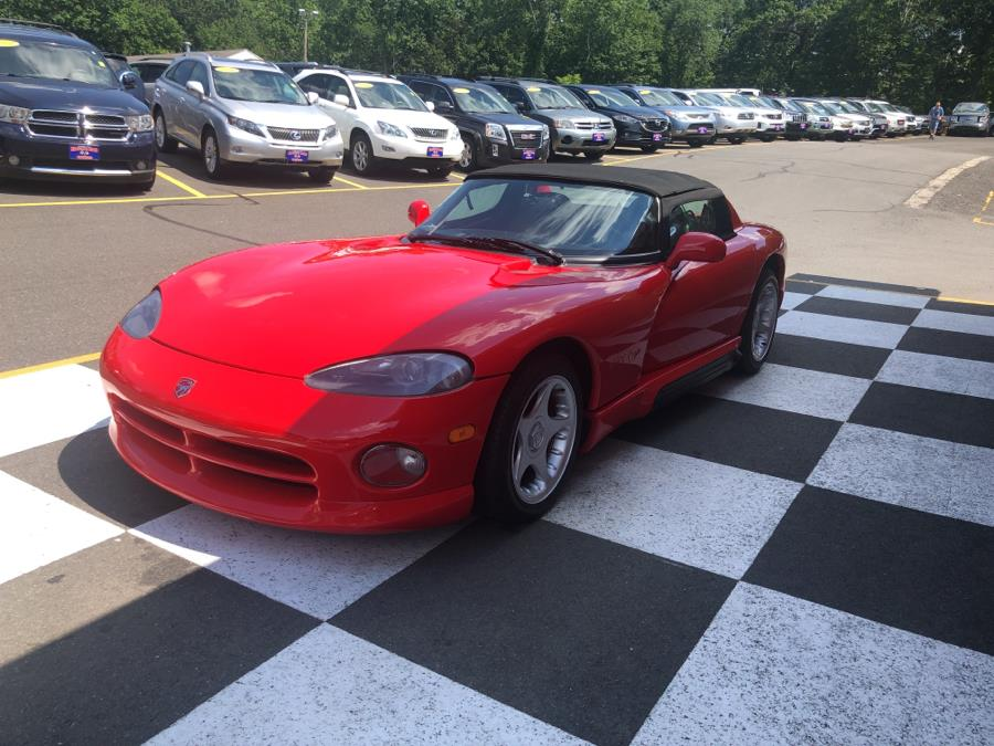 Used Dodge Viper 2dr Open Sports Car 1994 | National Auto Brokers, Inc.. Waterbury, Connecticut