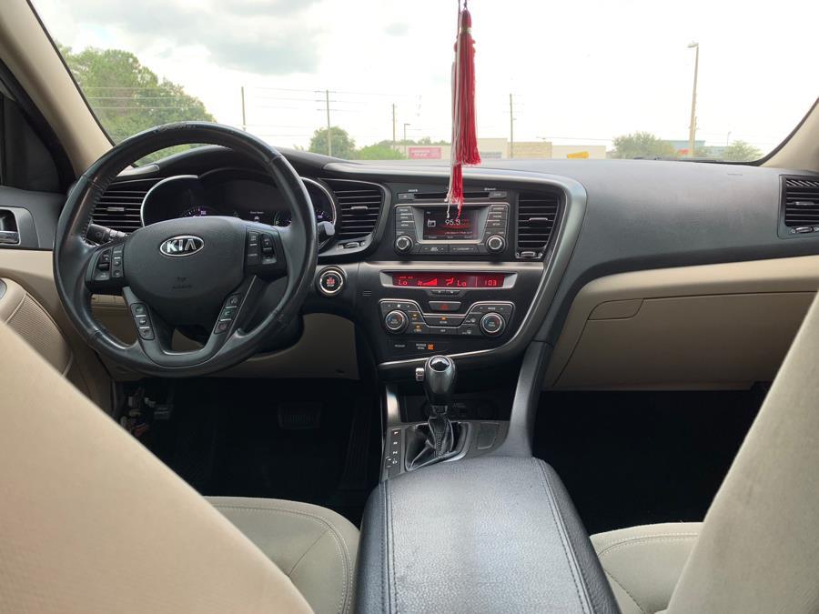 Used Kia Optima 4dr Sdn 2.4L Auto EX Hybrid 2012   2 Car Pros. Orlando, Florida