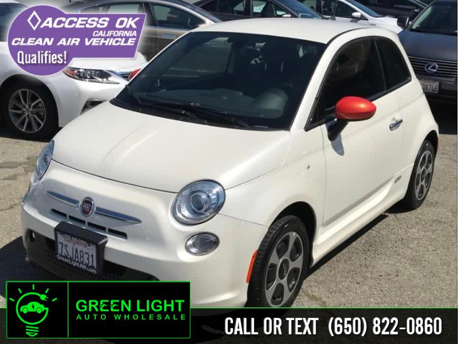 2016 FIAT 500e 2dr HB, available for sale in Daly City, California | Green Light Auto Wholesale. Daly City, California