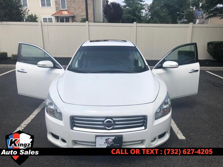 2012 Nissan Maxima 4dr Sdn V6 CVT 3.5 SV, available for sale in Avenel, New Jersey | Kingz Auto Sales. Avenel, New Jersey