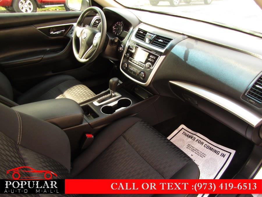 Used Nissan Altima 2.5 SV Sedan 2018   Popular Auto Mall Inc . Newark , New Jersey