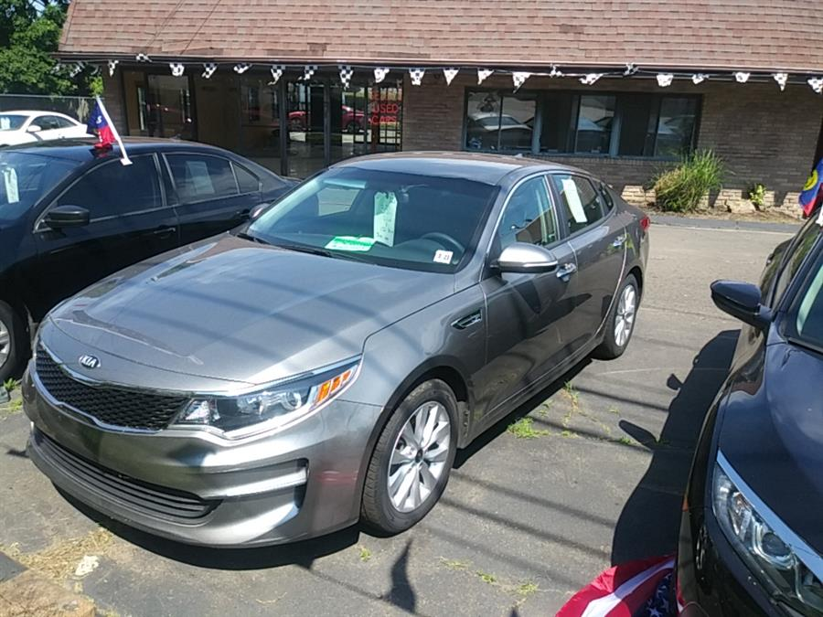Used Kia Optima LX Auto 2017 | 5M Motor Corp. Hamden, Connecticut
