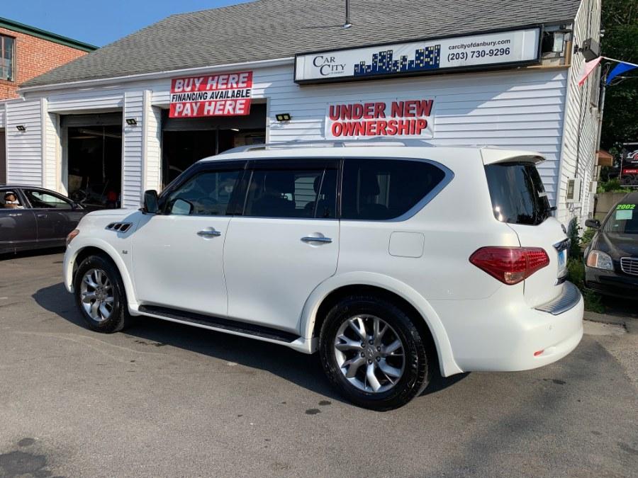 Used INFINITI QX80 4WD 4dr 2014 | Car City of Danbury, LLC. Danbury, Connecticut