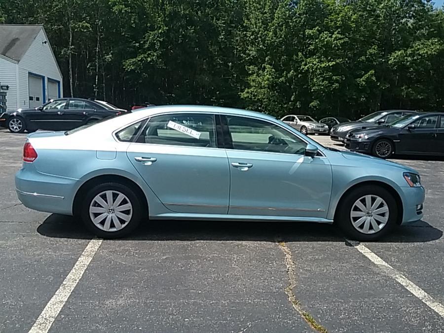 2012 Volkswagen Passat 4dr Sdn 2.0L DSG TDI SEL Premium, available for sale in Rochester, New Hampshire | Hagan's Motor Pool. Rochester, New Hampshire
