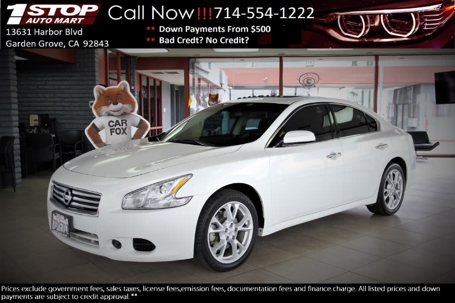 Used 2014 Nissan Maxima in Garden Grove, California | 1 Stop Auto Mart Inc.. Garden Grove, California