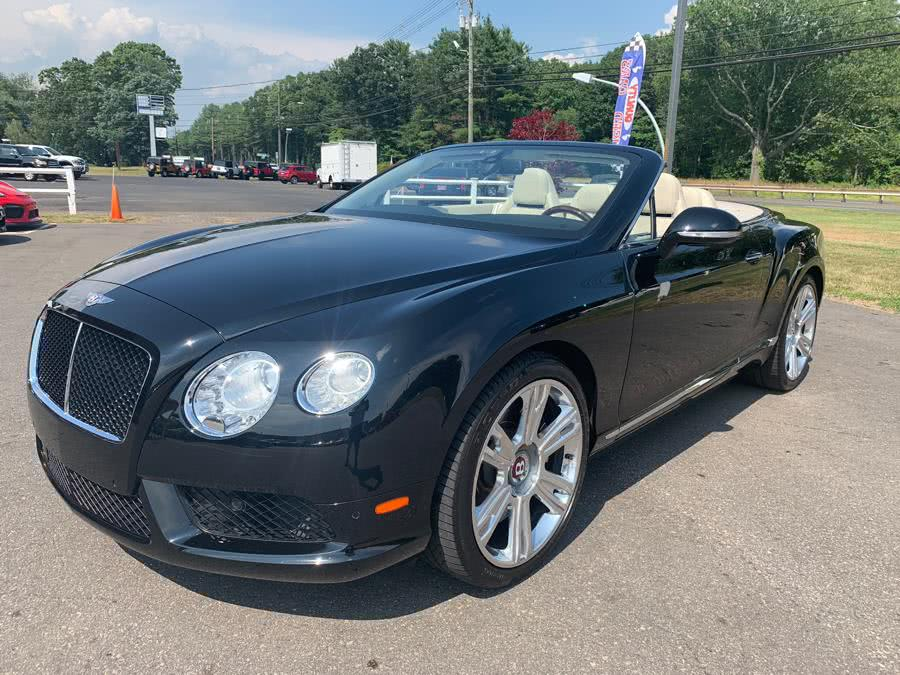 Used Bentley Continental GT V8 2dr Conv 2014 | Mike And Tony Auto Sales, Inc. South Windsor, Connecticut