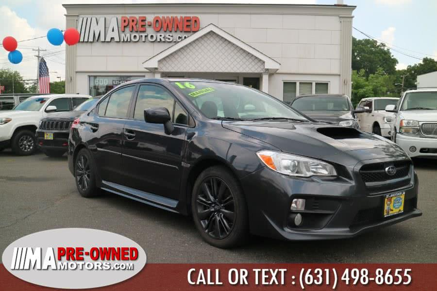 Used 2016 Subaru WRX in Huntington, New York | M & A Motors. Huntington, New York