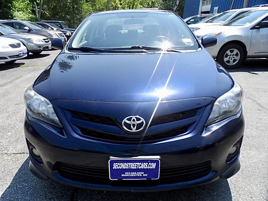 2011 Toyota Corolla S, available for sale in Manchester, New Hampshire | Second Street Auto Sales Inc. Manchester, New Hampshire