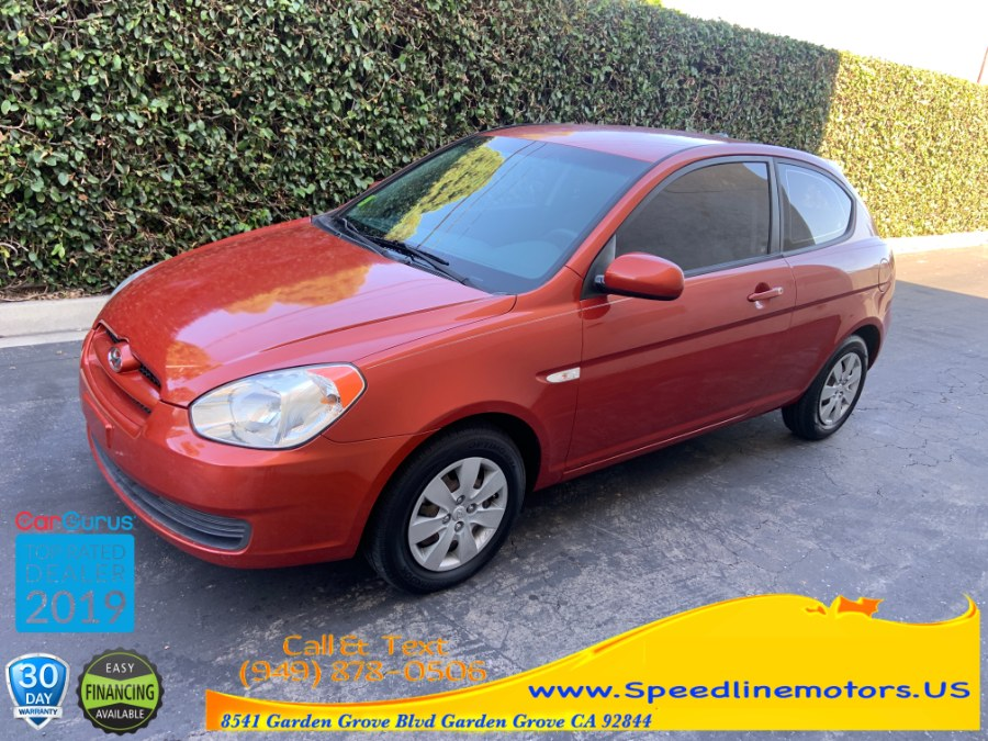 2010 Hyundai Accent 3dr HB Auto GS, available for sale in Garden Grove, California | Speedline Motors. Garden Grove, California