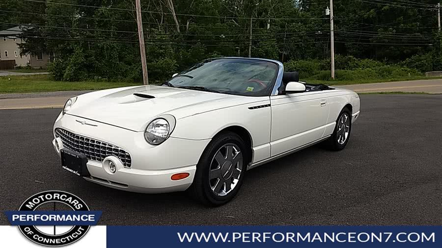 Used 2002 Ford Thunderbird in Wilton, Connecticut | Performance Motor Cars. Wilton, Connecticut