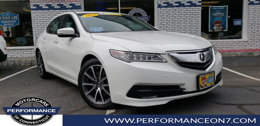 Used 2016 Acura TLX in Wilton, Connecticut | Performance Motor Cars. Wilton, Connecticut
