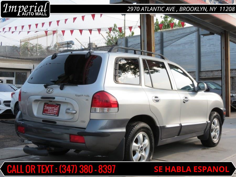 2005 Hyundai Santa Fe 4dr GLS 4WD 2.7L Auto, available for sale in Brooklyn, New York | Imperial Auto Mall. Brooklyn, New York