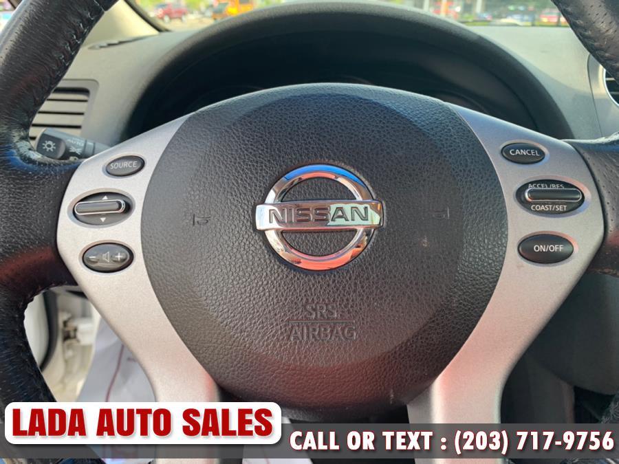 2008 Nissan Altima 2dr Cpe I4 CVT 2.5 S ULEV, available for sale in Bridgeport, Connecticut | Lada Auto Sales. Bridgeport, Connecticut