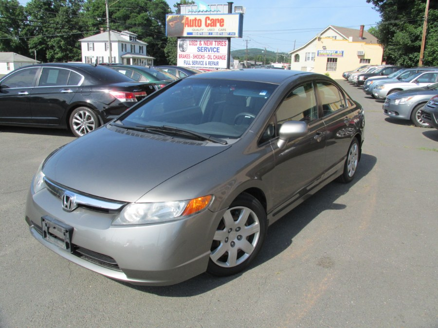 2007 Honda Civic Sdn 4dr AT LX, available for sale in Vernon , Connecticut   Auto Care Motors. Vernon , Connecticut